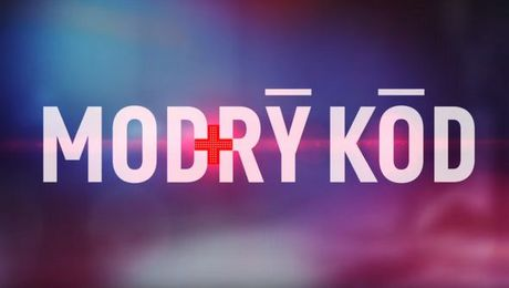 Modry kod logo